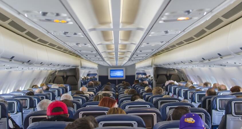 Putnici u avionu