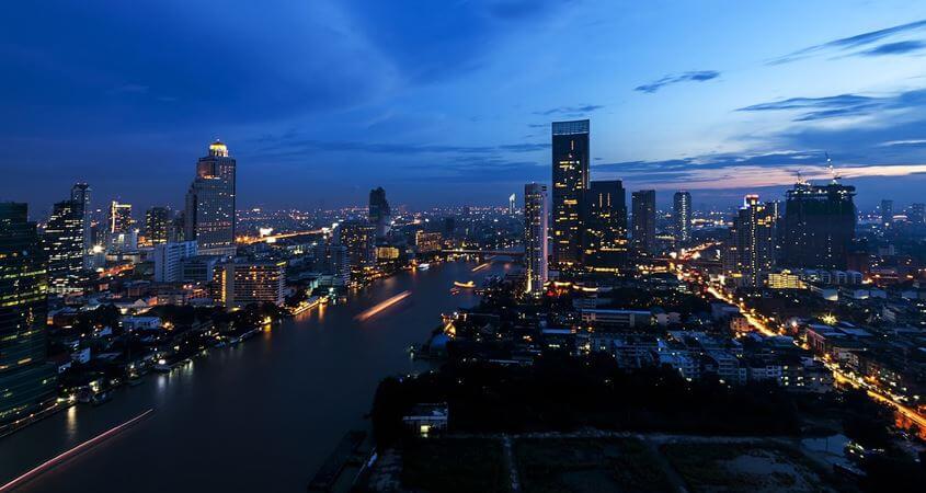 Bankok noću