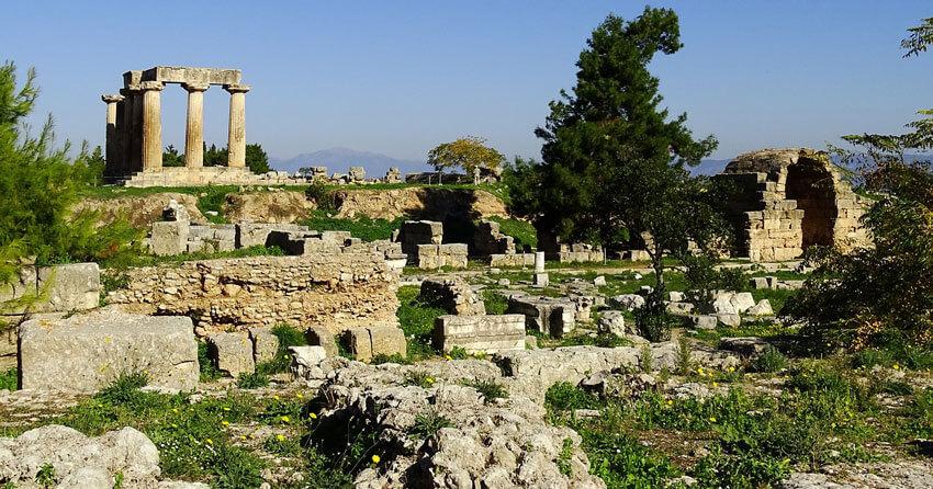 drevni korint peloponez