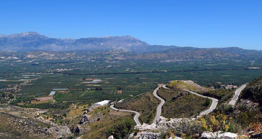 Planinski putevi na Kritu