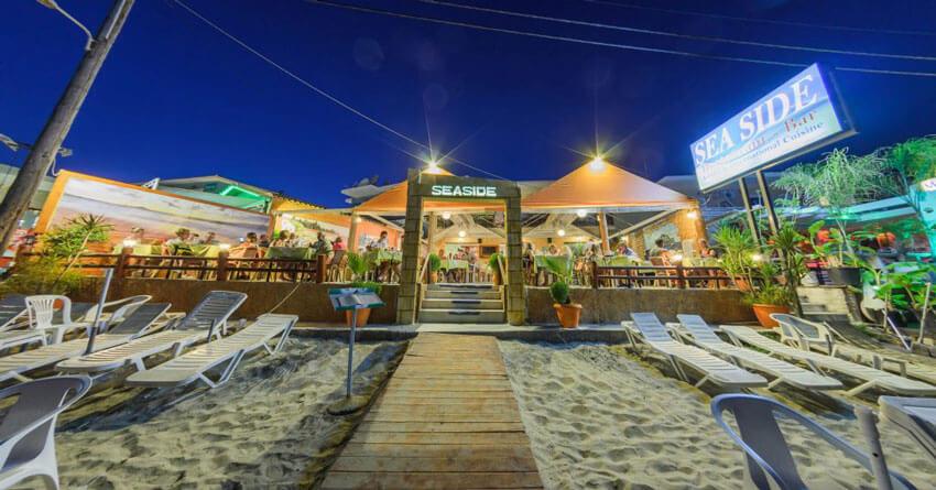 SeaSide restoran na plaži Laganas Zakintos