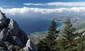 Vidikovci Kefalonija planina Ainos pogled