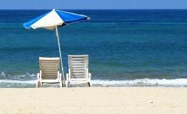 Ležaljke na plaži - cene na Halkidikiju