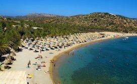 Plaže na Kritu - Vai plaža
