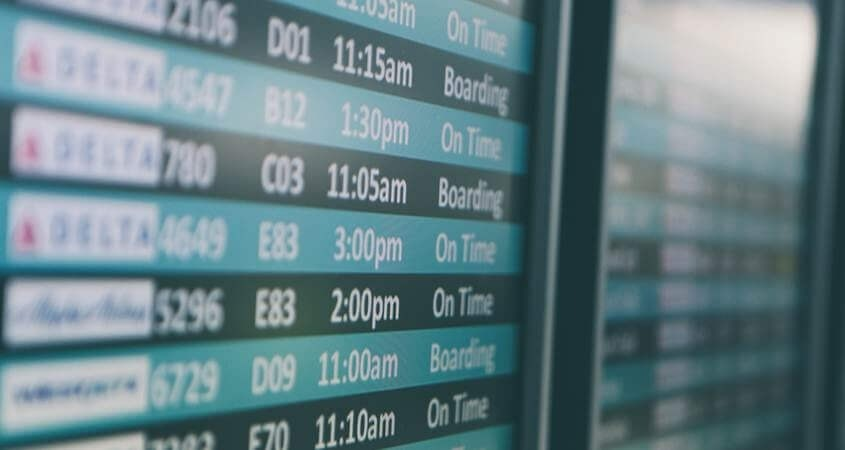 Raspored letova aerodrom