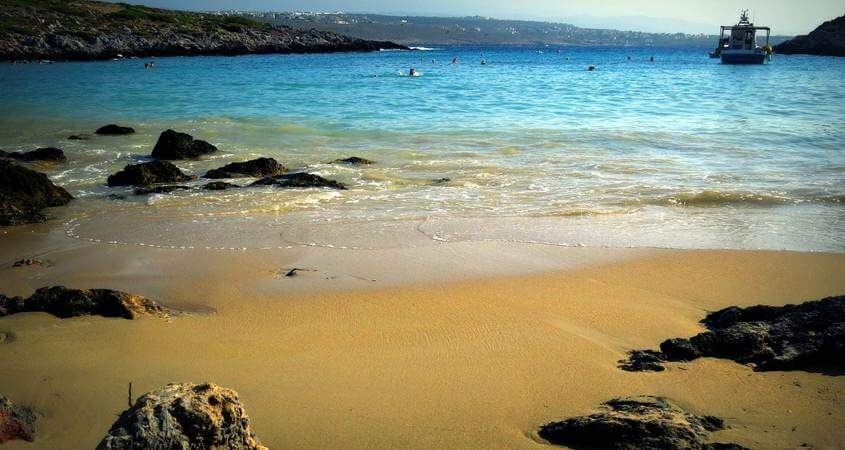 plaža na eviji