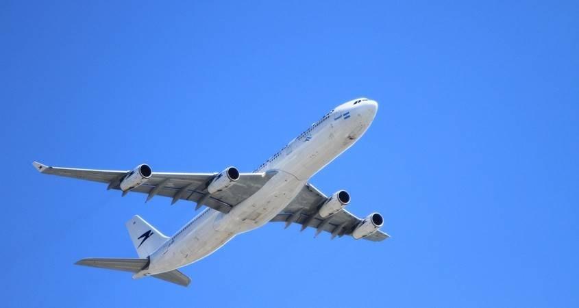 Avion u letu