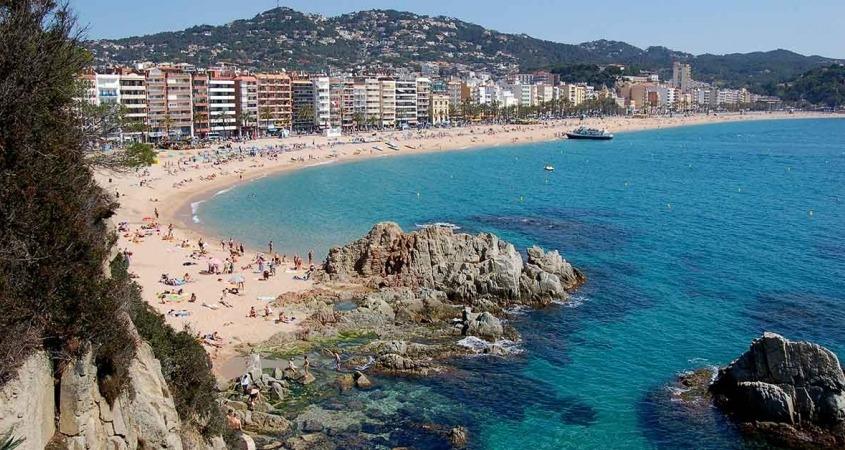 Najlep E Plaže U Ljoret De Maru Panija Balkan Fun