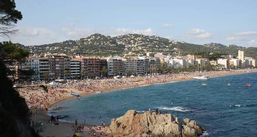 ljoret de mar španija leto