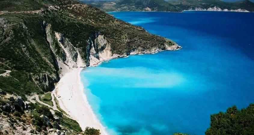 Kefalonija leto za mlade i izlet na Myrtos beach