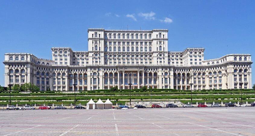 Zgrada parlamenta, Bukurešt