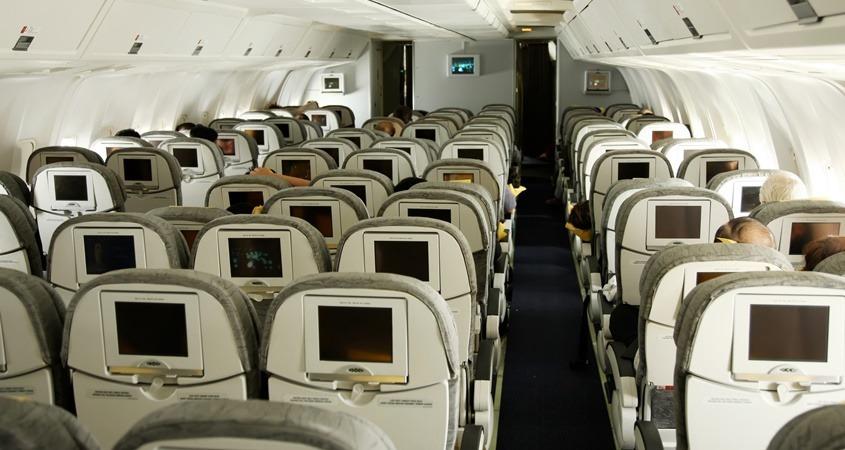 Sedišta u putničkom avionu