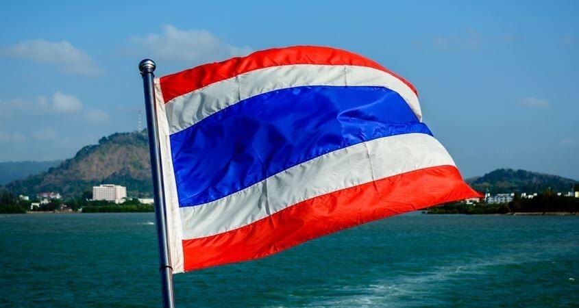 Zastava Tajlanda
