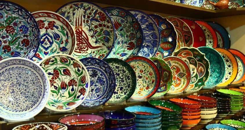 Šareni turski tanjiri