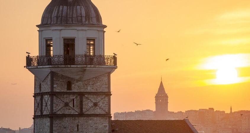 Turska zalazak sunca