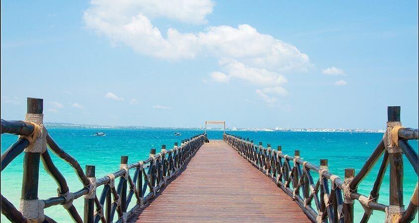 Plaža na Zanzibaru