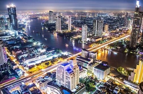 Bangkok Tajland noću