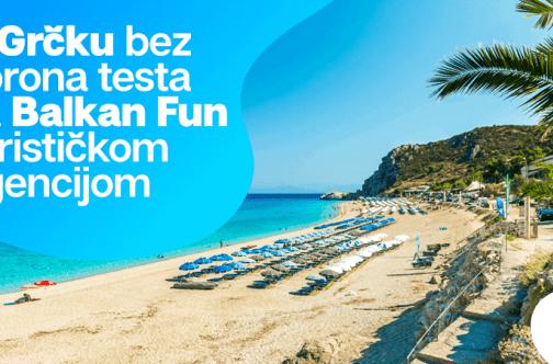 Grčka letovanje 2020 bez korona testa