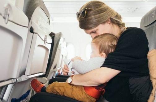 Putovanje avionom sa bebom