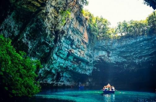 Prirodne atrakcije Kefalonija - Melisani pećina čudo prirode