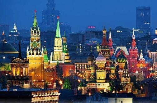 Jesenje putovanje Moskva pohod - noć građevine