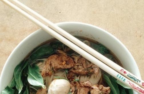 Tajlandsko jelo nudle