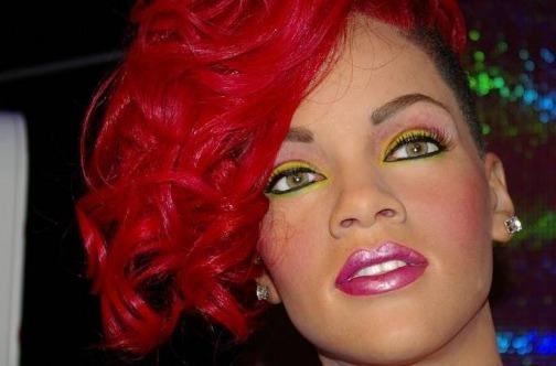 Rihanna voštana figura