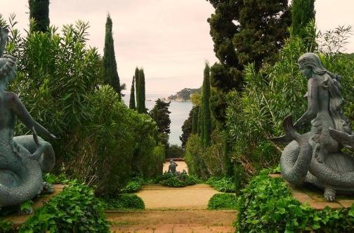 Santa Clotilde vrt u Ljoret de Maru