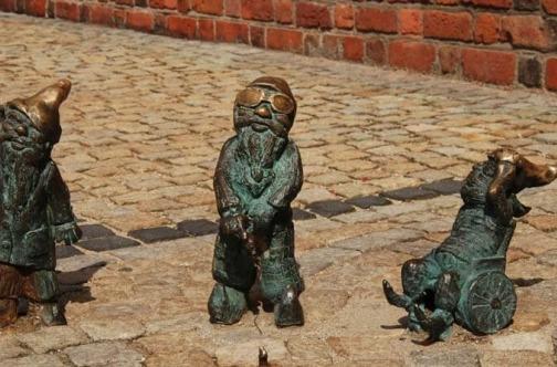vroclav statue patuljaka